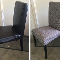 Upholstery recover